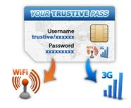 Trustive launches worldwide 3G Wifi package