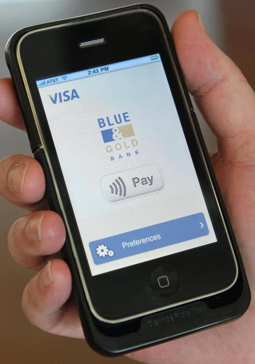 Visa confirms iPhone payment service