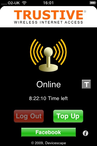 Trustive WiFi iPhone app3