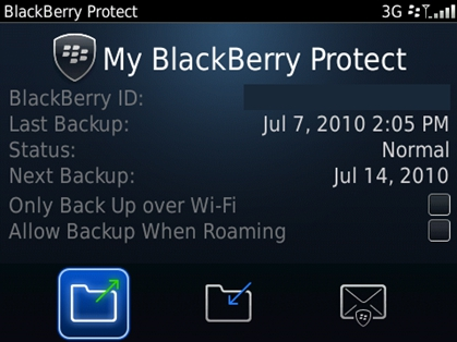 RIM launches MobileMe like wipe and backup service for BlackBerry users