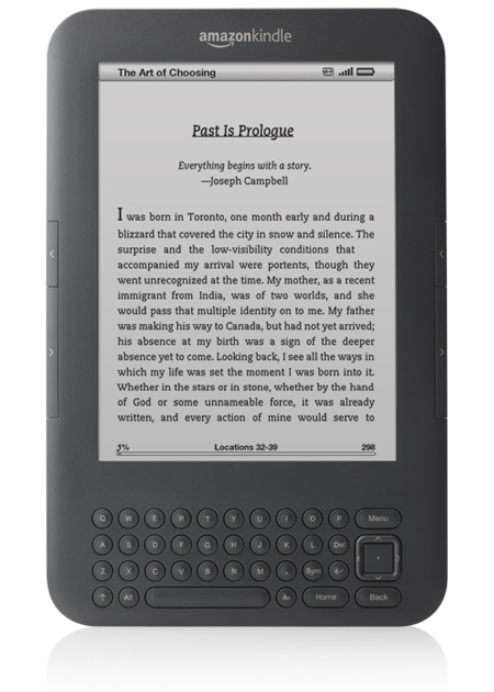 Amazon mini Kindle goes on sale