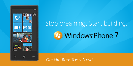 windows phone 7 dev tools