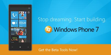 windows phone 7 dev tools