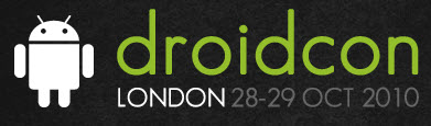 Diary Date &#8211; DroidCon London 28-29 Oct