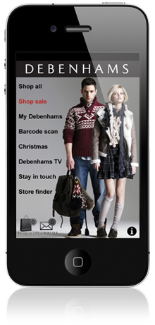 Debenhams launch an iPhone app