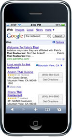 Google mobile search up 500%