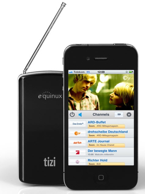 The tizi brings live TV to your iPhone/iPad