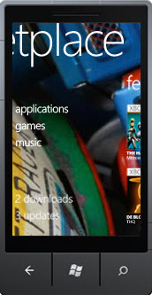Windows Phone 7 updates due and marketplace hits 5,500 apps