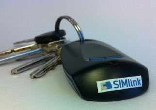 NFC on a key fob for wi-fi phones from Simlink and Morpho