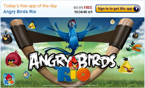 angry birds rio free on amazon android app store