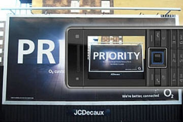 o2 priority advert