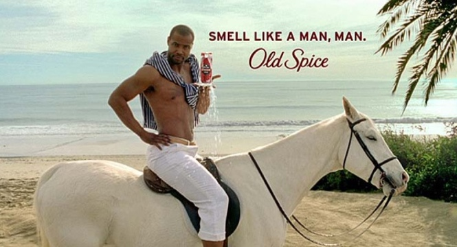 Old spice video one of YouTube's viral successes